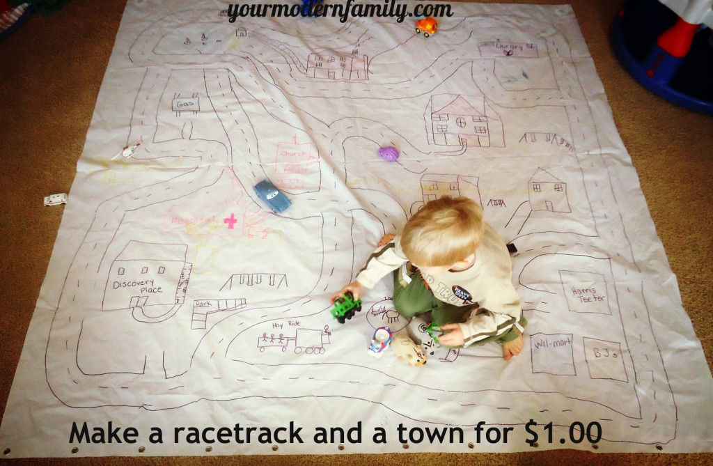 make a racetrack