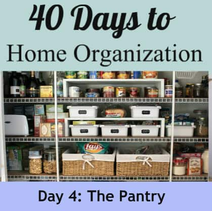 Tips to organize your kitchen for How to organize your pantry shelves