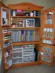 Organizing kids art supplies 2
