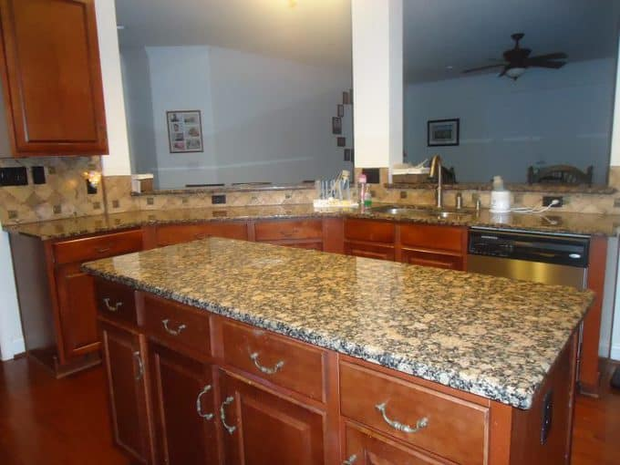 clear countertops