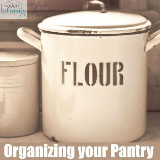 Day 4- Organize your Pantry
