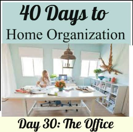 Organizing An Office organizing your office - your modern family: 40 days to organization