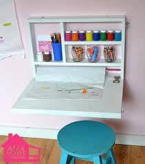 Strong Magnet To Keep It Shut When Not In Use You Could Use A Storage Ottoman For The Seat To Increase Your Storage Space Like Ana White Does In The
