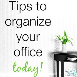 Day 30: Organizing your office