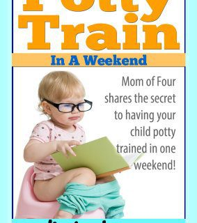 Potty Train in a Weekend ebook!
