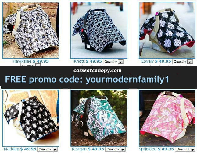 carseat-canopy 2 & FREE carseat canopy: best baby shower gift : Your Modern Family