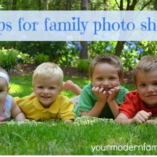 5 tips for family photo shoots