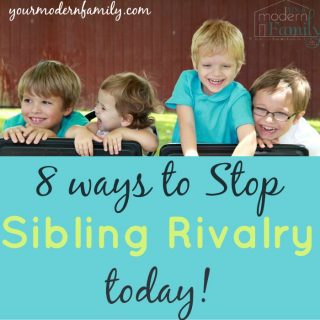 8 ways to stop sibling rivalry TODAY!
