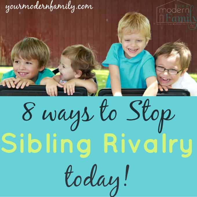stop sibling rivalry