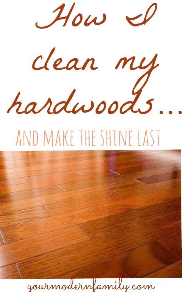 What is the best way to clean dark hardwood floors your for Best way to wash kitchen floor