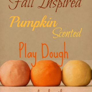 Pumpkin Pie Play Dough (DIY)