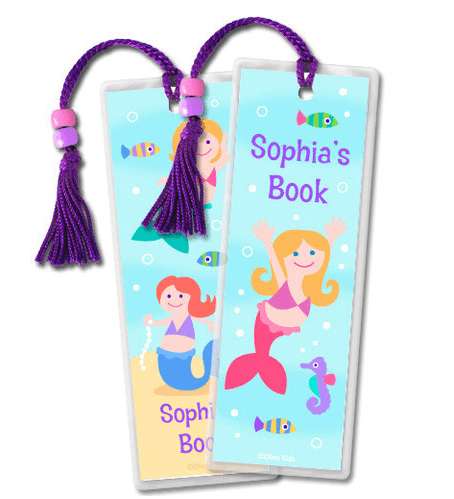 personalized bookmark - great gift idea to pair with a new book!