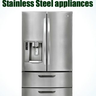 how to clean stainless steel appliances without streaking