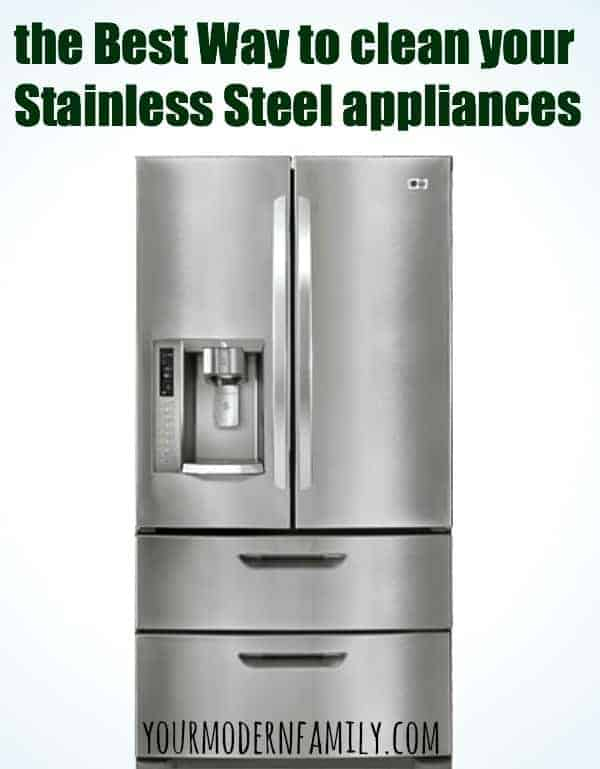 best way to clean stainless steel appliances. Black Bedroom Furniture Sets. Home Design Ideas