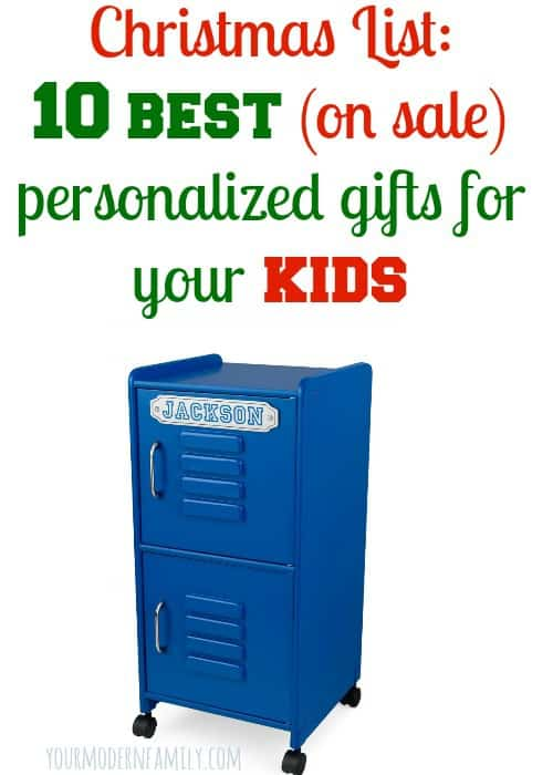 10 best Personalized Christmas gifts for kids  - GREAT list!!!  Love this for Christmas!