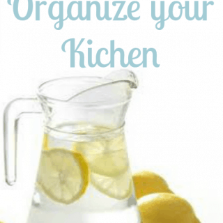 Tips to organize your kitchen – top to bottom