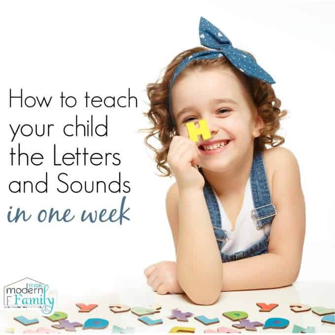 teaching letters in one week