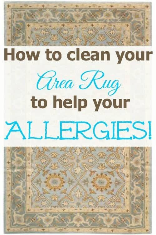 Tips For Cleaning Area Rugs To Get Rid Of Dust Allergy