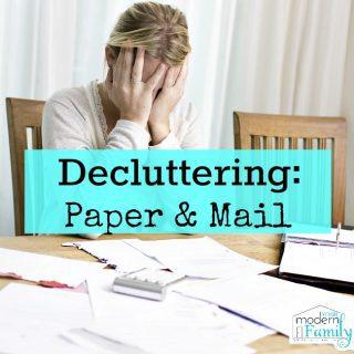 Declutter : Paper & Mail