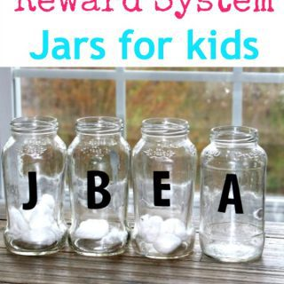 DIY reward jar