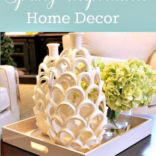 Decorating tips for spring {Inspiration!}