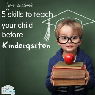 5 skills your child should know before starting Kindergarten