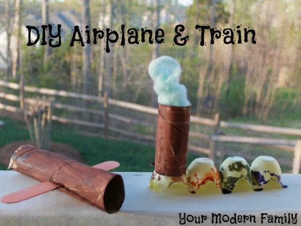 DIY airplane & Train