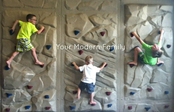 rock climbing kids