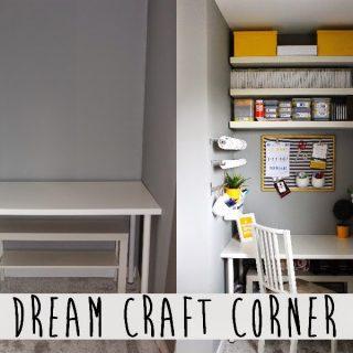 DIY craft corner