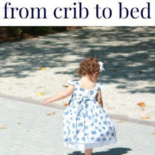 Time for a big-girl bed!  Tips for transitioning from crib to bed