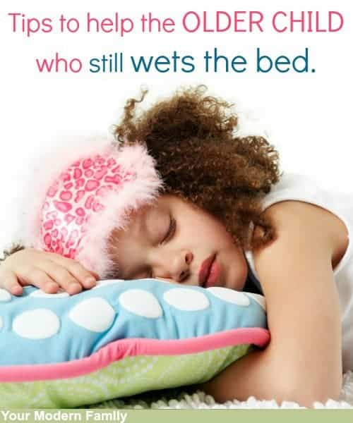 older child wets the bed