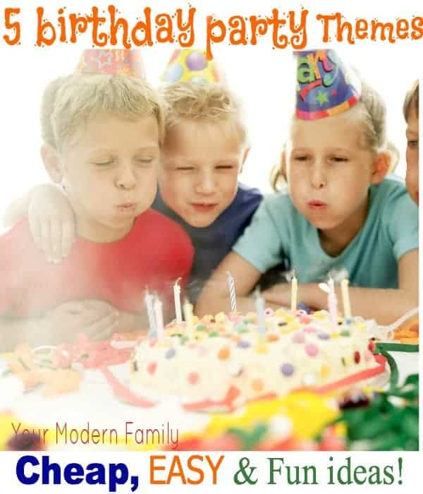 easy cheap birthday party ideas