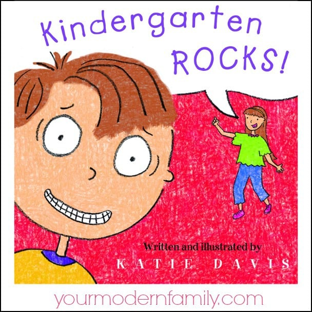 Kindergarten Rocks book