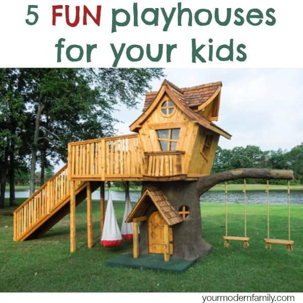 Marvelous 5 Fun Playhouses Amazing Ideas
