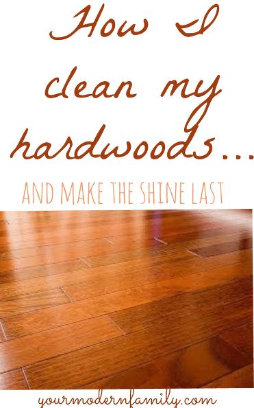 1  The Best Way To Clean Hardwood Floors