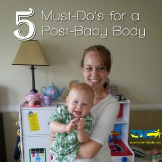 The best, most practical post-baby body advice you are going to get (part 1)
