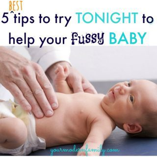 5 best tips to calm a fussy baby  (for happier moments!)
