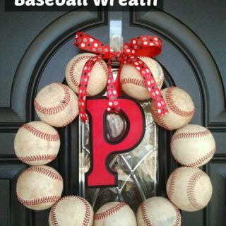 Baseball crafts & a pin-it party