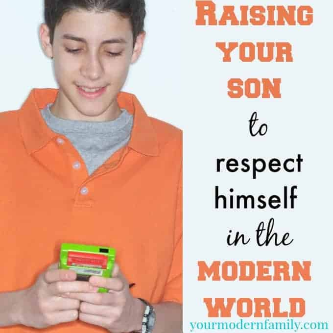 raising your son to respect himself