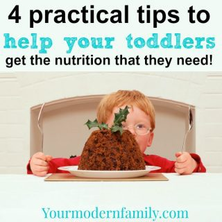 4 eating tips for toddlers (& a healthy banana muffin recipe!)