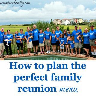 How to plan the perfect family reunion menu  (recipes included!)