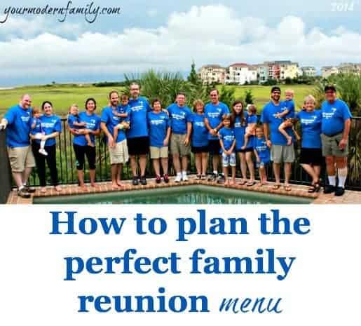 Family Reunion Menu Ideas
