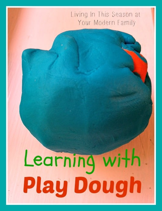 Learning With Play Dough Your Modern Family