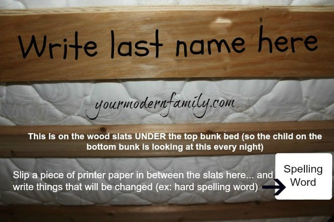 name-under-bed