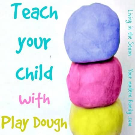 Learning With Play Dough - Your Modern Family