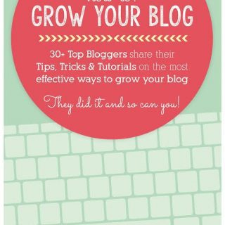 New e-book just for bloggers… How to grow your blog ( 30+ bloggers share tips!)