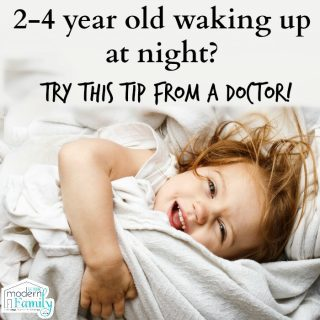 2 year old is still waking up at night? Advice from a Pediatrician