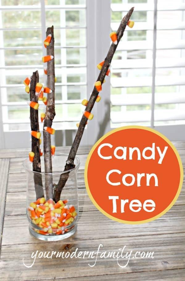Candy Corn Tree