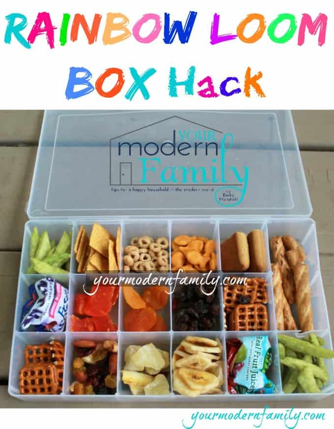 Rainbow loom box hack