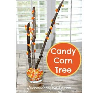 DIY Candy Corn Tree